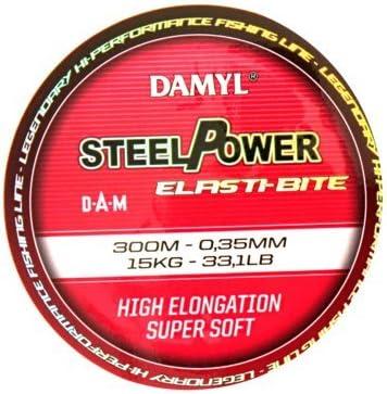 DAM Steelpower Elasti-Bite Angelschnur 0,22mm