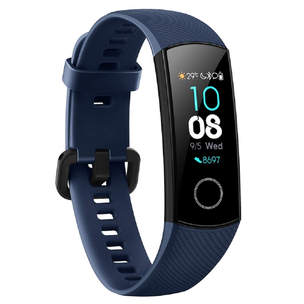 Huawei Honor Band 4 Fitness Tracker AMOLED Full Color TruSleep Monitoring TruSeen 3.0 Real-TIME Heart Rate 50 Meters Waterproof Call Notification Up to 17 Days Battery Life