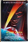 "1998 STAR TREK INSURRECTION Original Rolled DS 27 X 40"" Movie Poster Patrick Stewart Jonathan Frakes"