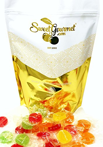 Truly Fruit Wrapped Soft Jells Assorted Fruits Kosher Candy 3 pounds