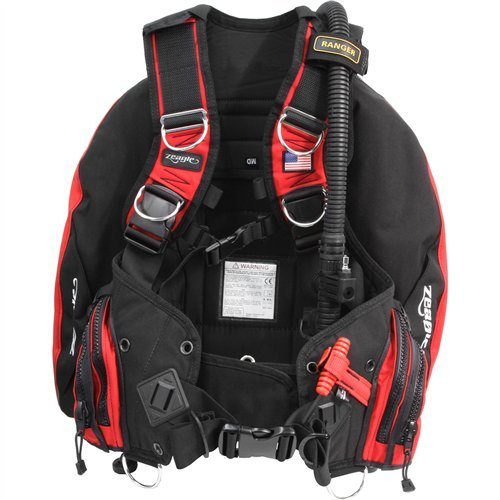 Ripcord Weight System - Zeagle Ranger Scuba Diving BCD with Ripcord Weight System