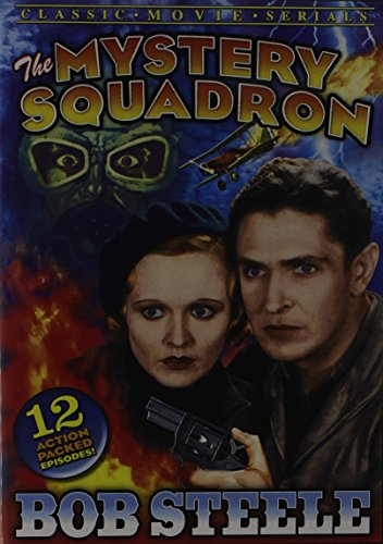 DVD : Mystery Squadron: Chapters 1-12 (Black & White)