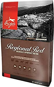 Orijen Regional Red for Dogs 4.5 Pounds