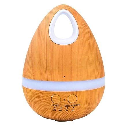 Humidificador de aceite esencial huevo,difusor de aroma ultrasónico de aromaterapia silenciosa,apagado automático sin agua,temporizador,purificador de aire ...