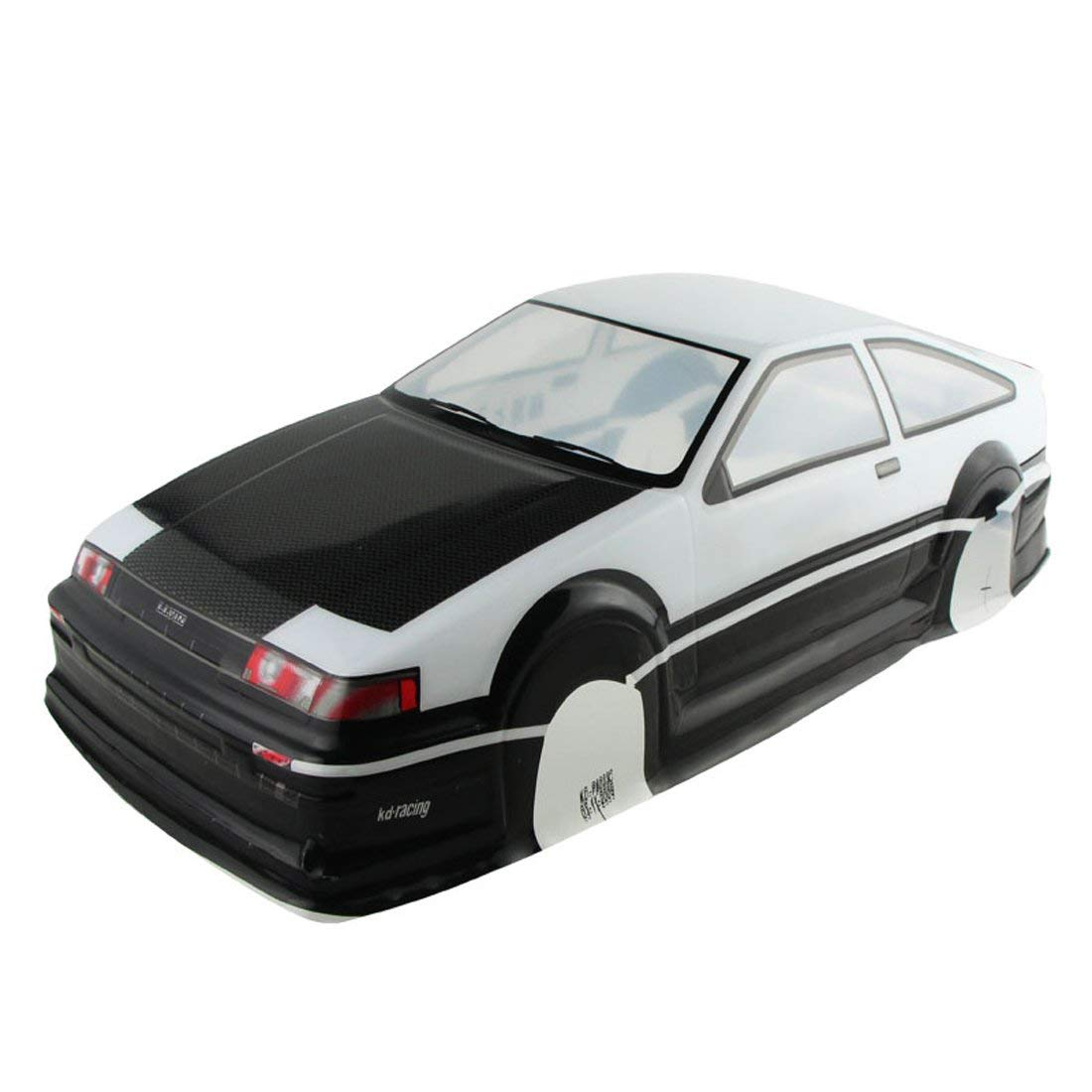 B07589WKV2 Coolplay 1/10 PVC Painted Body Shell RC Racing Car Accessories for Toyota Corolla AE86 51rSRXVCzXL