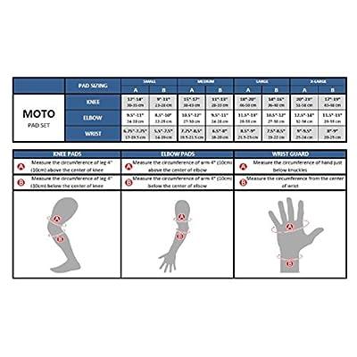 K2 Moto Men's 2012 Wrist Guard, Small : Sports & Outdoors