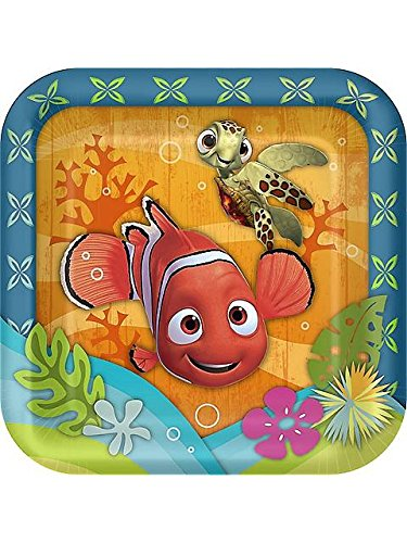 Finding Nemo 'Coral Reef' Small Paper Plates (8ct)