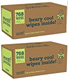 Seventh Generation Thick & Strong Free and Clear Baby Wipes Refill, Pack of 24 (Total 1536 Count)