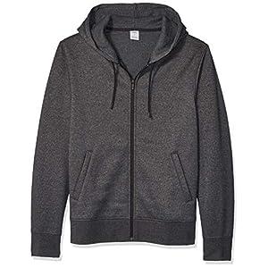 Amazon Essentials Men's Water-Repellent Thermal-Lined Full-Zip Fleece Hoodie