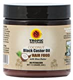 Tropic Isle Living Coconut Jamaican Black Castor Oil Hair Food (4 oz)