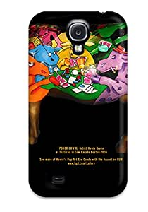 New Premium Poker Skin Case Cover Excellent Fitted For Galaxy S4