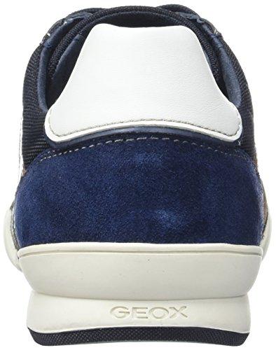 Geox Heren M Kristof 5 Fashion Sneaker Dark Royal