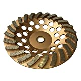 Grinding Wheels for Concrete and Masonry Available from 4 to 7 Inches - 7'' Diameter 24 Turbo Diamond Segments 7/8''-5/8'' Arbor