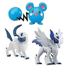 Pokemon Mega Absol/Azurill/Absol Plush Toy