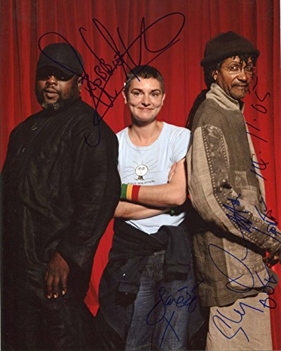 Sly and Robbie & Sinéad O'Connor SINGER - SONGWRITER autograph, In-person signed photo