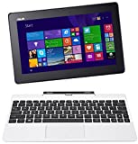 ASUS Transformer Book T100TA-C1-WH(S) 10.1″ Detachable 2-in-1 Touchscreen Laptop, 64GB (White), Best Gadgets
