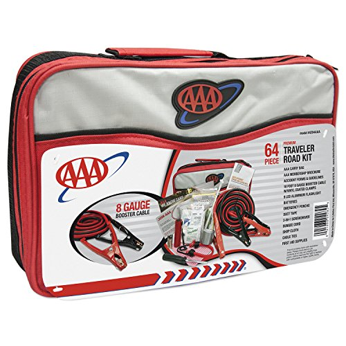 AAA 64 Piece Premium Traveler Road Kit