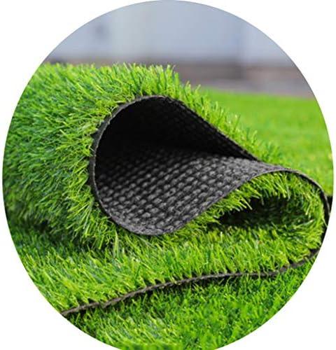 YNFNGXU アンチエイジング人工芝20ミリメートルパイル高超高密度草マットバルコニー結婚式の会場敷設2×1メートル (Size : 2x9m)