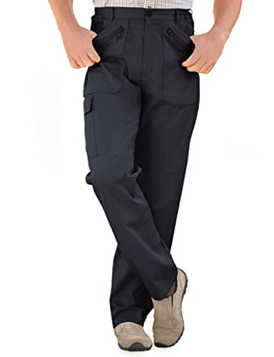 "Big Mens Durapress Trousers 29/"" 31/"" Inside Leg 42 44 46 48 50 52 54 56 58 60 62"