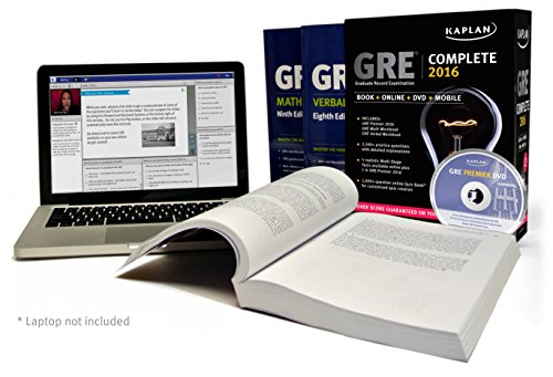 GRE Complete 2016: The Ultimate in Comprehensive Self-Study for GRE: Book + Online + DVD + Mobile (Kaplan Test Prep)