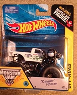 Monster Jam Screamin' Demon 2014 New Look Includes Monster Jam Figure #51 Off-road