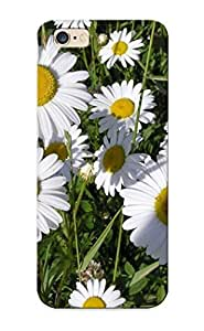 7f544a45296 New Premium Flip Case Cover White Daisies Skin Case For Iphone 6 Plus As Christmas's Gift