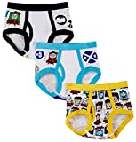 Thomas the Tank Engine and Friends 3 pack Toddler Boys Briefs for Little Boys