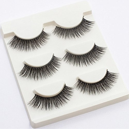 Fake Eyelashes Charming Soft Long Makeup 3D False Lashes for Women