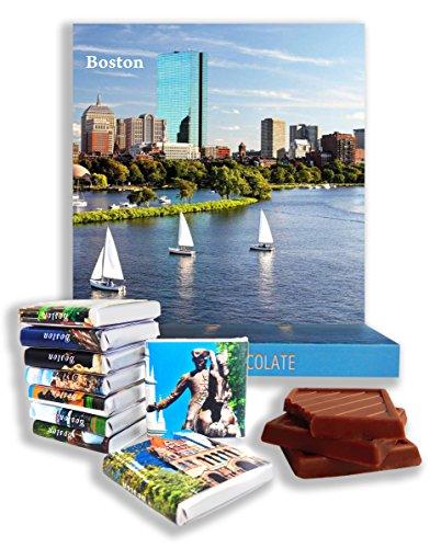 DA CHOCOLATE Candy Souvenir BOSTON Chocolate Gift Set 5x5in 1 box (Coast)
