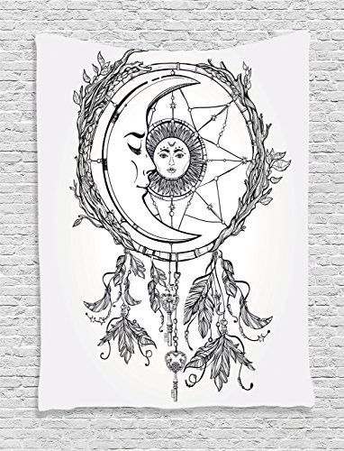 Tapestry Hanging Ambesonne Dreamcatcher Feathers