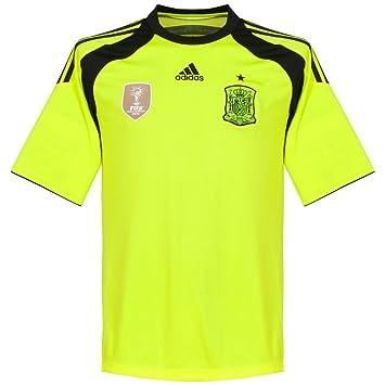 adidas Camiseta Portero Selección 2014 Electricity-Negra: Amazon.es: Deportes y aire libre