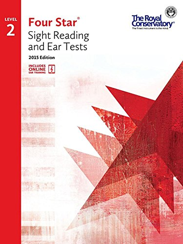 4S02 - Royal Conservatory Four Star Sight Reading and Ear Tests Level 2 Book 2015 Edition