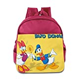 Donald Duck DuckTales Kids School Bag Pink