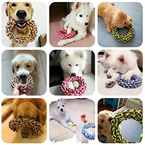 FHKGCD Durable Big Dog Chew Rope Toys Resistente A La Mordedura Grandes Golden Retriever Pitbull Labrador Toy Pet…