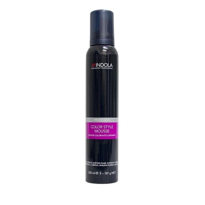 Indola - Color Style Mousse 200 ml  Amazon.it  Bellezza 1b427de3c2e9