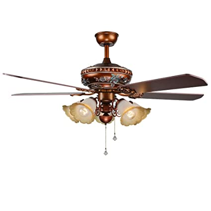 Akronfire modern ceiling fan lamp with 5 glass lamp shades decorate akronfire modern ceiling fan lamp with 5 glass lamp shades decorate living room bedroom hotel simple aloadofball Images