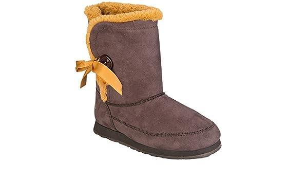 online retailer e8b61 92663 adidas NEO - Botas de Tela para Mujer marrón marrón, Color marrón, Talla 8  UK Amazon.es Zapatos y complementos