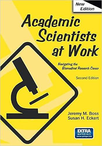Academic Scientists at Work: Jeremy Boss, Susan Eckert ...