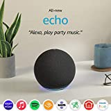 All-new Echo (4th Gen) | With premium sound, smart