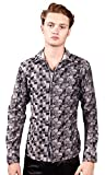 Barabas Men's ''Stained Glass'' Button Down Shirt XX Large