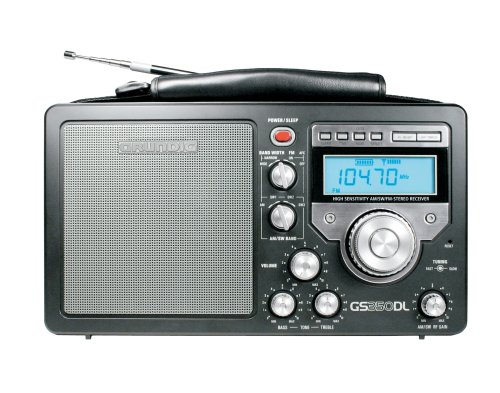 Grundig/Eton S350 AM/FM/Shortwave Field Radio with Alarm Clock and Sleep Timer, Variable RF Gain Control, Full-Range Speaker, Bass and Treble Controllers - Black (NGS350DLB) reviews