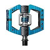 Crank Brothers Mallet Enduro Pedals, Light Blue/Light Blue Spring