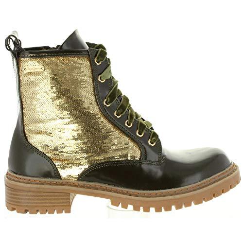 Collie 734 Pls50340 Pepe Safari donne Jeans per Stivaletti le nPqnFwS6Y