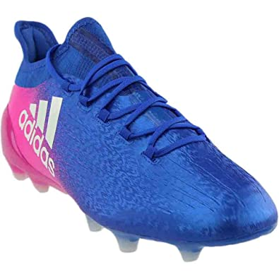 15477270fcf adidas X 16.1 FG Soccer Cleats (Blue Running White FTW)