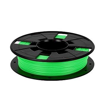 CUHAWUDBA Filamento de la Impresora 3D Verde Más Colores 1.75Mm ...