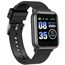 ASWEE Smart Watch, Fitness Trackers Heart Rate and Sleep Monitor, Step Counter, Multiple Sports Modes Tracking, IP67…