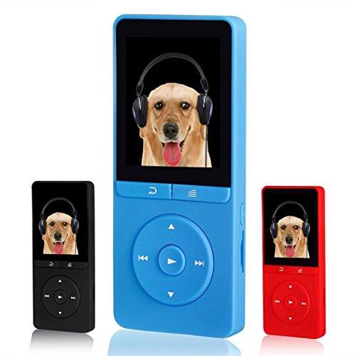 FecPecu 8GB MP3 Player, Music Player Hi-Fi Sound 80 Hours Pl