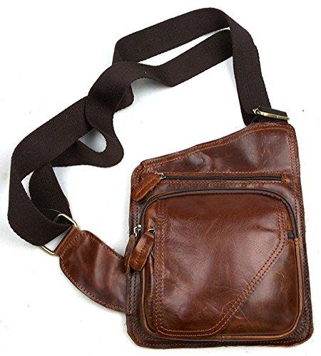 Men's Insum Retro Leather Shoulder Brown Bag Messenger a6xdw6CW7q