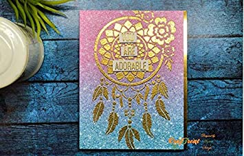 Wall Home Decor DIY Albums Wood 6X6 Folk Art Background Crafting Notebook Fabric Floor CrafTreat Stencil Tile Reusable Painting Template for Journal Scrapbook and Printing on Paper