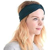 Casualbox CHARM Elastic Turban Headband Mens Womens Hair...